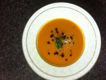 exklusive pikante Karottensuppe - Rezept