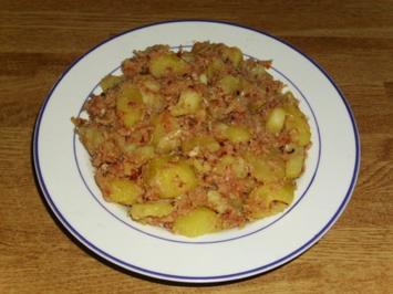 Haschee Gröstel - Rezept