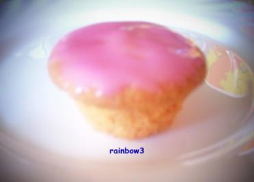 Backen: Rosa Mini-Muffins - Rezept