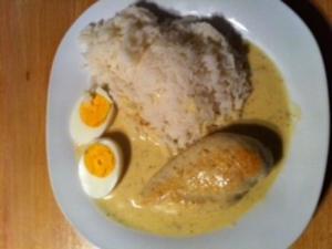 Hähnchenbrust in Senfsauce - Rezept