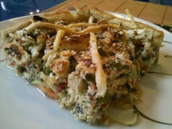 Quiche: Orientalische Gemüsequiche - Rezept