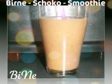 BiNe` S BIRNE - SCHOKO - SMOOTHIE - Rezept