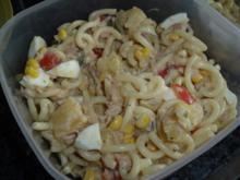Thunfisch-Ananas-Nudelsalat - Rezept