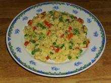 schnelle Gemüse-Eier Fleckerl - Rezept
