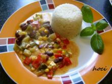 Bunte-grobe-mediterane Gemüsesauce - Rezept