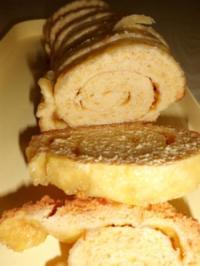 Kuchen: Aprikosenroulade - Rezept