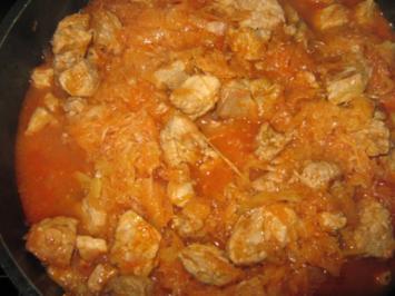 Reispfanne mit Hähnchenbrust, Paprika und Tomaten - Rezept