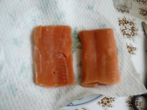 Spargel mit Lachs - Rezept - Bild Nr. 4