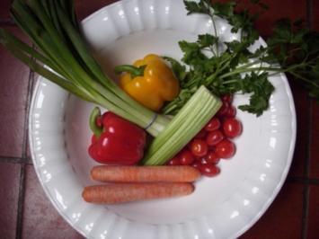 Bärlauchbällchen in Tomaten - Parmesansauce - Rezept