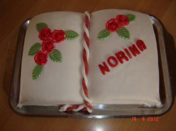 Kuchen & Torten : Gefülltes Tortenbuch - Rezept