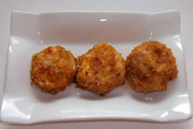 Hähnchenbrustnuggets aus dem Ofen - Rezept