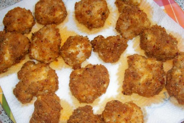 Hähnchenbrustnuggets aus dem Ofen - Rezept - Bild Nr. 7