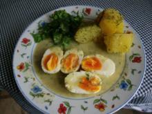Eier in Dillsosse - Rezept