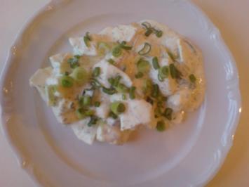 kartoffelsalätchen zum abendbrot - Rezept