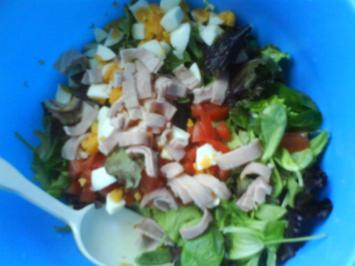 Herzhafter Pflücksalat - Rezept