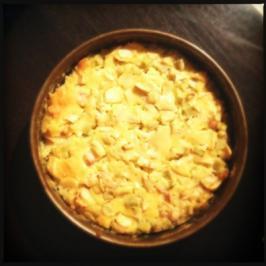 Apfel-Rhabarber-Kuchen - Rezept