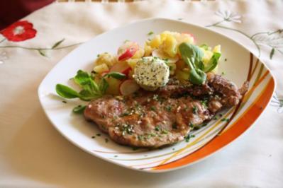 Steaks mit Honigglasur - Rezept