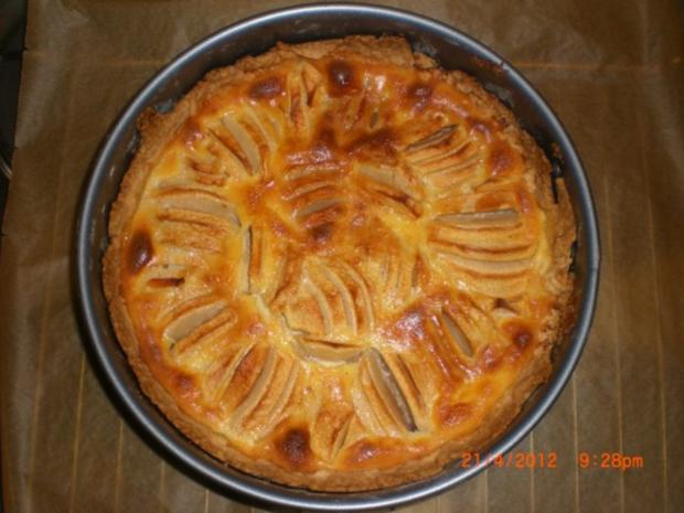Elsässer Apfelkuchen - Rezept