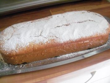 Kuchen - Mango-Zitronen-Rührkuchen - Rezept