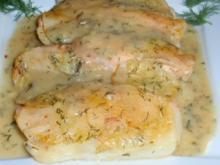 Spargel-Lachs-Kartoffel-Gratin - Rezept