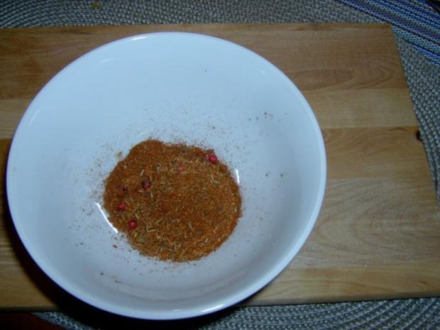 Cajun - Gewürzmischung oder Gewürzpaste - Rezept