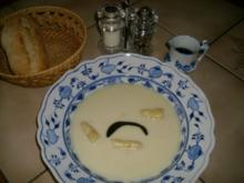 Spargelcremesuppe>> - Rezept
