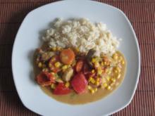 Fleischpfanne mit Gemüse - Rezept