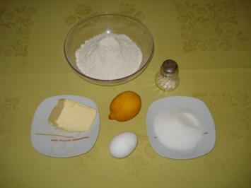 gefüllter Mandelkuchen - Rezept