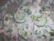 leichter Gurkernsalat - Rezept
