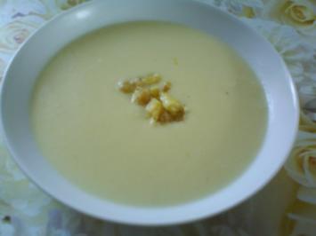 Zitronig frische Spargelcremesuppe - Rezept