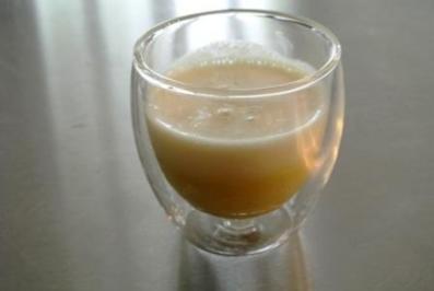 Spargel-Selleriesuppe mit Sojaschaum - Rezept