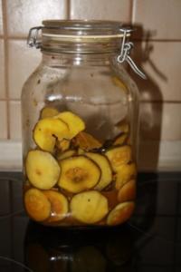Zucchini Eingelegt - Rezept
