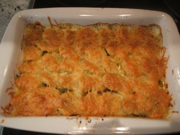 Kartoffeln: Casseruola di Gnocchi Rossi  con Verdura - Rezept