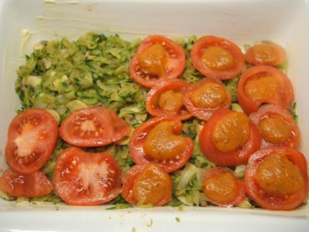 Kartoffeln: Casseruola di Gnocchi Rossi  con Verdura - Rezept - Bild Nr. 5
