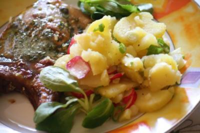 Radieschen-Kartoffelsalat - Rezept