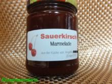 M+G:  SAUERKIRSCH-MARMELADE - Rezept