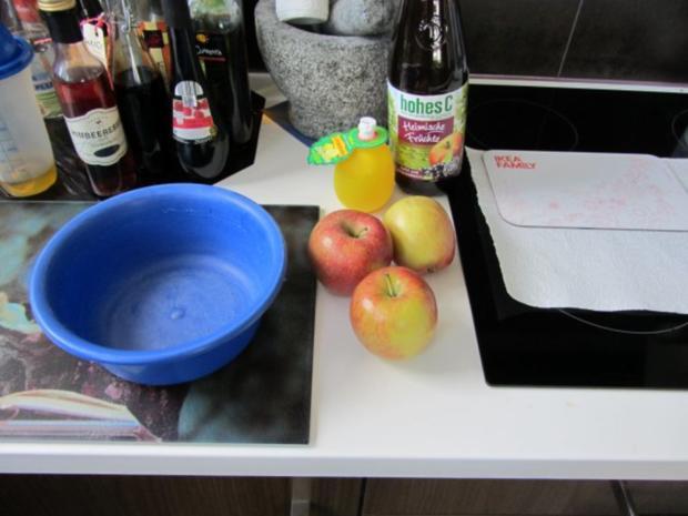 Ganz schneller Thorsten -teig - Apfelkuchen - Klein und Groß - Rezept