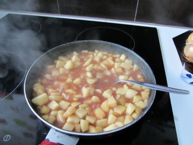 Ganz schneller Thorsten -teig - Apfelkuchen - Klein und Groß - Rezept - Bild Nr. 5