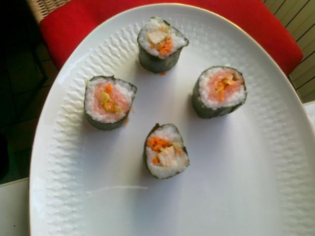 Sushi selbst Gemacht. - Rezept - Bild Nr. 35