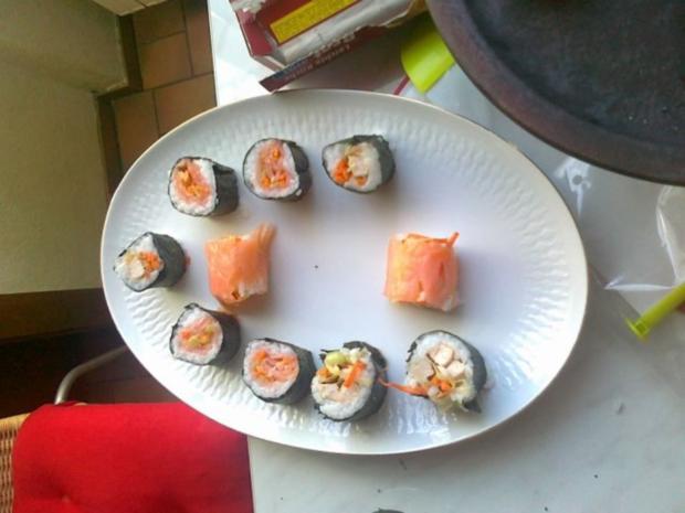 Sushi selbst Gemacht. - Rezept - Bild Nr. 36