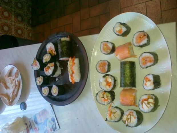 Sushi selbst Gemacht. - Rezept - Bild Nr. 39
