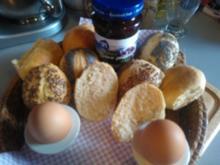Sonntags-Broetchen (ohne Wartezeit!) - Rezept