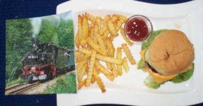 Steakburger - Rezept