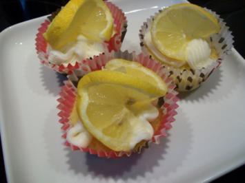 Zitronen Cupcakes - Rezept