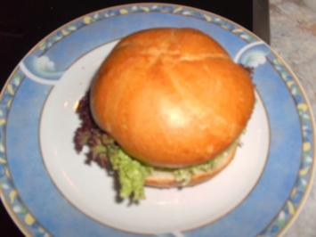 Poisson Burger - Rezept