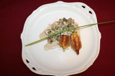 Rezept: Nudeltasche mit Gemüse