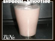 BiNe` S ERDBEER -  SMOOTHIE - Rezept