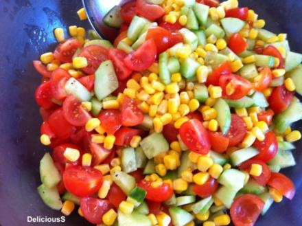 Nudelsalat für die Sommer Grillparty - Rezept