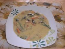 Kartoffelsuppe mit knackigem Gemüse - Rezept