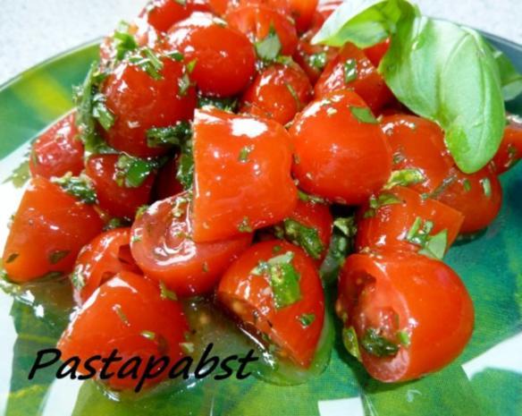 Tomatensalat -Kräuterig-Fruchtig - Rezept - Bild Nr. 2